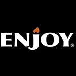 Au Enjoy Logo Tagline Horizontal black